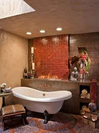 brown mosaic bathroom accessories. tub and shower combos pictures ideas tips from hgtv bathroom contemporary with mosaic tile wall brown accessories r