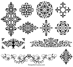 view larger image ornamental vector art images and floral decoration designs on flowers wall art decor vector with ornamental vector art images and floral decoration design
