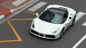 new ferrari 2016 white. 2016 ferrari 488 gtb in monaco | startup + detailshots driving scenes - youtube new white 1