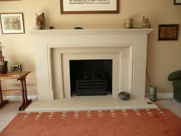 canterbury stone and marble warwick fireplace in french limestone