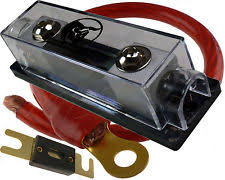 amp fuse block 150 amp anl fuse holder fuseholder inline block battery install kit 0 gauge 1 ft