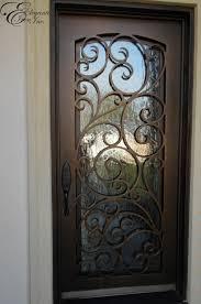 Custom Wrought Iron Front Door Home Ideas Pinterest Iron - Iron exterior door