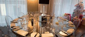 round table mirror top for events