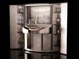 Elegant Home Bar Furniture Design Idea Adds Striking Luxury of