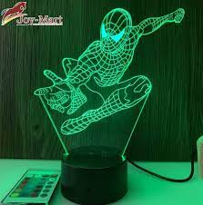 Mới 2021] Đèn led 3D hình người nhện Spider man giá rẻ