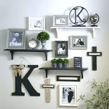 wooden wall monogram rustic nursery