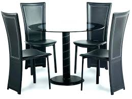 round kitchen table sets for 4 small dining room cameo glass chairs 42 inch 48