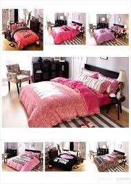 pink bed sets vibrant design pink bedding bed sets hot set letter sheet y pillowcases cot pink bed sets