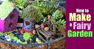 fariy garden. How To Build A Fairy Garden Fariy