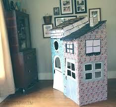 Diy cat playhouse Build Diy V3mediagroupco Diy Cardboard House Cardboard House For Kids Build Cardboard Model