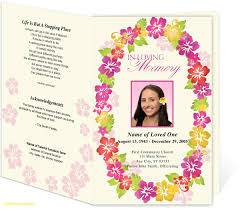 Funeral Invitation Template Funeral Invitation Template New Best Of Celebration Of Life Template 10