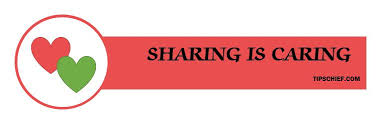 sharing is caring essay