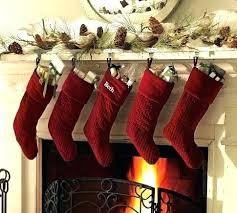 red velvet christmas stockings. Fine Red This Miniature Red And White Stocking Velvet Personalized Christmas  Stockings  To Red Velvet Christmas Stockings L