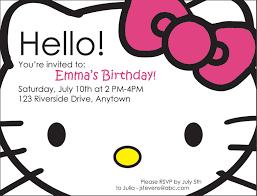 hello kitty photo birthday invitations com hello kitty photo birthday invitations