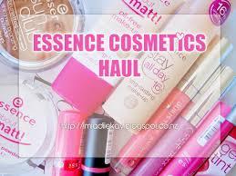 essence cosmetics haul foundation bronzer lipsticks lipgloss more