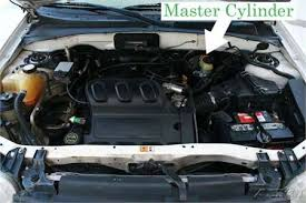 solved where is the starter located on a 2003 ford escape fixya Ford Escape Starter Diagram brake master cylinder is located here ford escape starter location