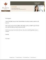 Business Letterhead Real Estate Business Letterhead