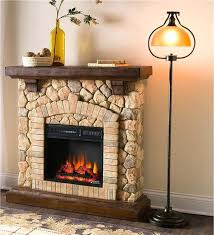 infrared electric fireplace stacked stone quartz tv stand