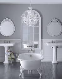 furniture astonishing white bathroom decoration with crystal mini chandelier bathroom bathroom chandeliers