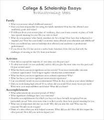 essays for college scholarships examples of resignation  home college of lake county college of lake county