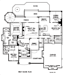 House Plan The Carrera by Donald A  Gardner ArchitectsFloor Plans