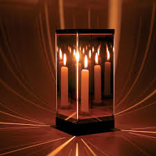 Candle Light Illusion The Flame Of Infinity Candle Infinity Lights Candles
