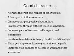Good Work Traits 20 Good Character Traits List Of Positive Character Traits