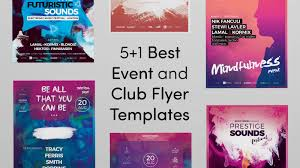 Club Flyers Design Online 5 1 Best Event And Club Flyer Templates Bundo Themes