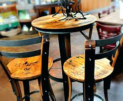 wooden bistro table set rustic pub tables sets rustic bistro table and chairs wood pub stools
