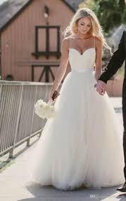 Discount Beach Wedding Dresses <b>2015 New Sweetheart</b> With <b>Lace</b> ...