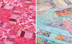 Free quilt pattern for batiks—and Jelly Rolls! - Stitch This! The ... & Quilts from Quilt Batik! Adamdwight.com