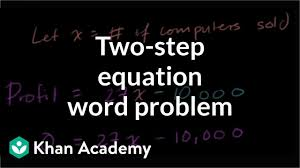 basic linear equation word problem 7th grade