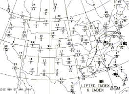 Stability Chart Aviation Weather Depiction Chart