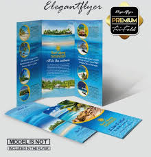 Travel Brochure Cover Design Top 20 Free Vacation Travel Brochure Templates In Psd
