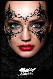 via make up magazine romania makeup mask masquerade mua art rebecca this is what i was talking about