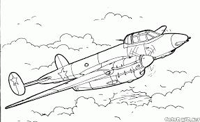 Avion Militaires 45 Transport Coloriages Imprimer