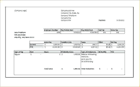 Free Pay Stub Template Fake Paycheck Monster Login Templates
