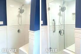 replacing shower doors replacing shower door astounding shower glass door installation shower door glass enclosure installation