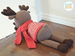 Bernat Crochet Patterns Stunning Eh Moose Big Amigurumi PDF Crochet Pattern IraRott Inc