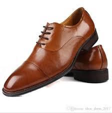 fashion italian designer formal mens dress shoes genuine leather black luxury wedding male shoes office