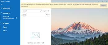 Choose the add symbol in the left pane to open a new contact. Windows 10 Mail Not Syncing With Comcast Microsoft Community
