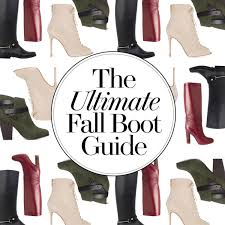 your ultimate guide to fall boots 2016 edition