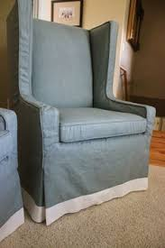 my clients inspiration pic for her chairs she wanted an upholstered look as much as possible before a great set of unique squ