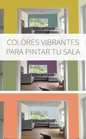 inspírate con estas vibrantes paletas de colores para tu sala y edor