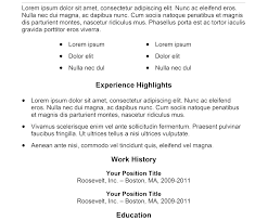 Simple Resume Template Free Download Styles Best Free Resume Templates Yahoo Answers Resume 100 Simple 97