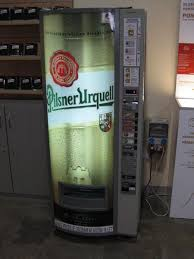 Beer Vending Machine Germany Beauteous A Beer Vending Machine Photo
