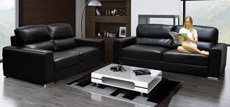 marine leather black leather sofa24
