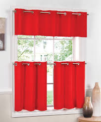 jackson curtains red