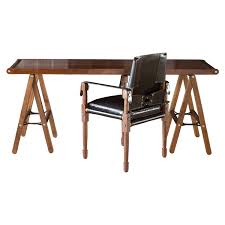 Danziger Trestle Table - Contemporary Traditional Mid-Century / Modern  Desks & Writing Tables - Dering Hall
