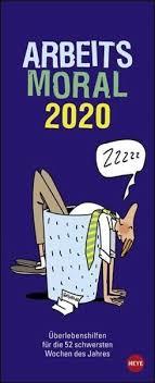 Arbeitsmoral 2020 Kalender Portofrei Bestellen